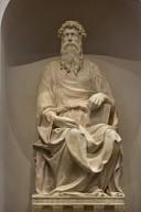 Duomo Façade Sculpture, Saint John and Saint Mark