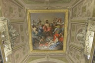 Villa Borghese, Room of the Gladiators Ceiling
