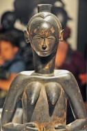 Bété-Guro Female Figure from Côte d'Ivoire