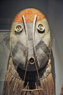 Mask from Kamayurá people, Brazil