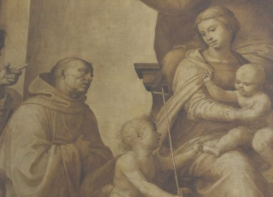 Madonna and Child with St. Anne and Patron Saints of Florence