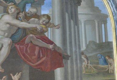 Punishment of the Couple Ananias and Saphira