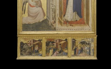 Annunciation (altarpiece from Orsanmichelle)
