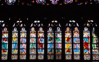 Notre-Dame Cathedral: Stained Glass, Notre-Dame Cathedral: Stained Glass