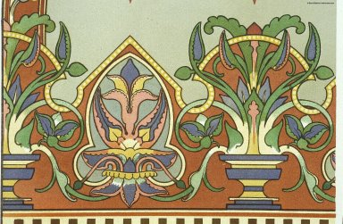 Peintures murales des chapelles de Notre-Dame, Peintures murales des chapelles de Notre-Dame