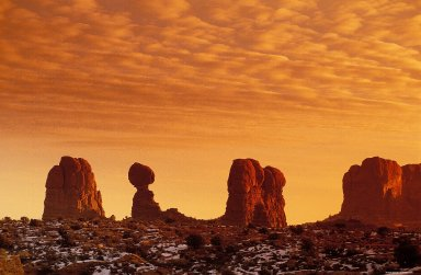 Arches National Park: Topographic Views, Arches National Park: Topographic Views