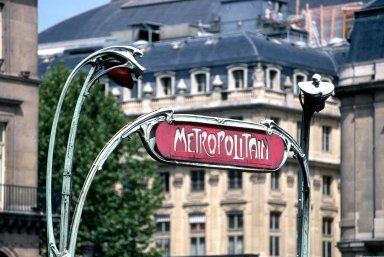 Paris Metro Shelter (Entrance) Type A; Colonel Fabien Station, Paris Metro Shelter (Entrance) Type A; Colonel Fabien Station