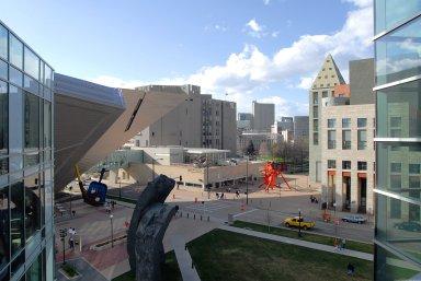Denver Art Museum; Frederic C. Hamilton Building, Denver Art Museum; Frederic C. Hamilton Building
