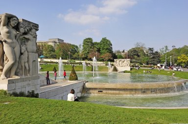 Fountain of Warsaw, Fountain of Warsaw