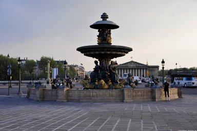 Fountains of the Place de la Concorde, Fountains of the Place de la Concorde
