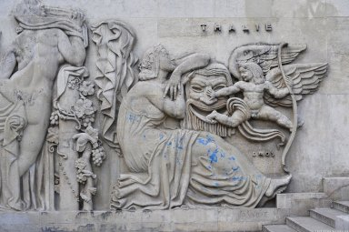 Legend of the Earth and Legend of the Sea reliefs, Legend of the Earth and Legend of the Sea reliefs
