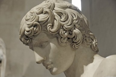 Bust of Antinous, called 'Antinous Ecouen', Bust of Antinous, called 'Antinous Ecouen'