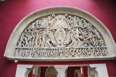 West Tympanum of Saint-Lazare, Autun Cathedral [plaster cast], West Tympanum of Saint-Lazare, Autun Cathedral [plaster cast]