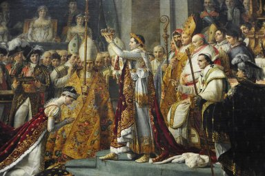Coronation of Napoleon in Notre-Dame, Coronation of Napoleon in Notre-Dame