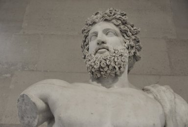 Bearded Divinity called 'Jupiter of Versailles', Bearded Divinity called 'Jupiter of Versailles'