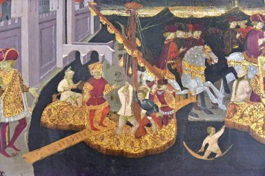 Story of Alatiel (from the Decameron): Arrival of the Bride, Wedding Banquet