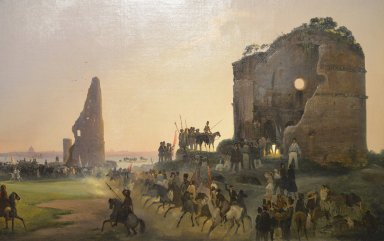 Artist's Festival in the Ruins of the Tor de' Schiavi