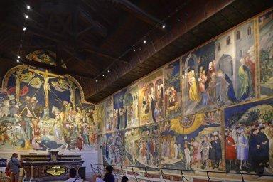 Oratory of St. John the Baptist Fresco Cycle