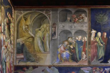 Annunciation to Zachary, Zachary Transcribes the Angel's Message
