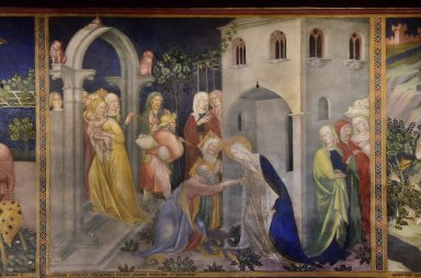 Virgin Mary's Farewell to Elizabeth and Zachary