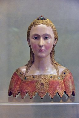 Reliquary Busts of two of the 11,000 Virgins of Cologne