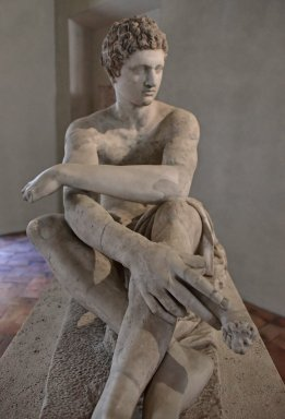 Statue of Seated Warrior