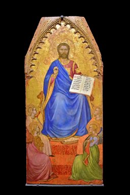 Christ Enthroned Adored by Angels