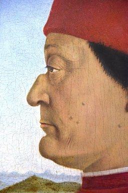 Portraits of Federico, Duke of Urbino and Battista Sforza [diptych]