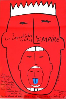Poster: Les Zapartistes contre l'empire