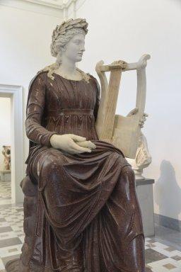 Apollo Seated with a Lyre