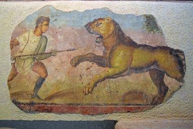 Podium Frescoes from the Amphitheatre of Mérida