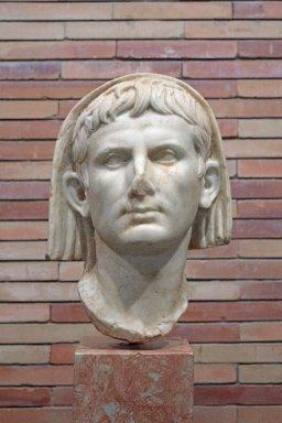 Head of Augustus as Supreme Pontiff