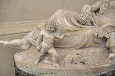 Reclining Statue, Personification of Autumn