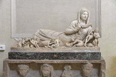 Reclining Statue, Personification of Winter