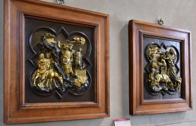 Florence Baptistery Competition Panels, Sacrifice of Isaac