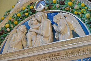 Santa Maria Novella Sacristy, Lavabo