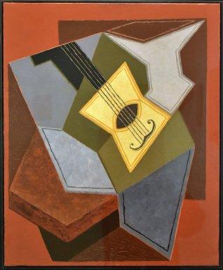Guitar and Fruit Bowl