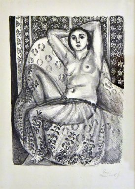 Seated Odalisque in a Tulle Skirt