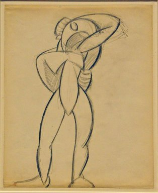 Study for Standing Nude