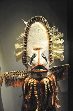 Barkcloth Dance Mask from Gulf Province, Papua New Guinea