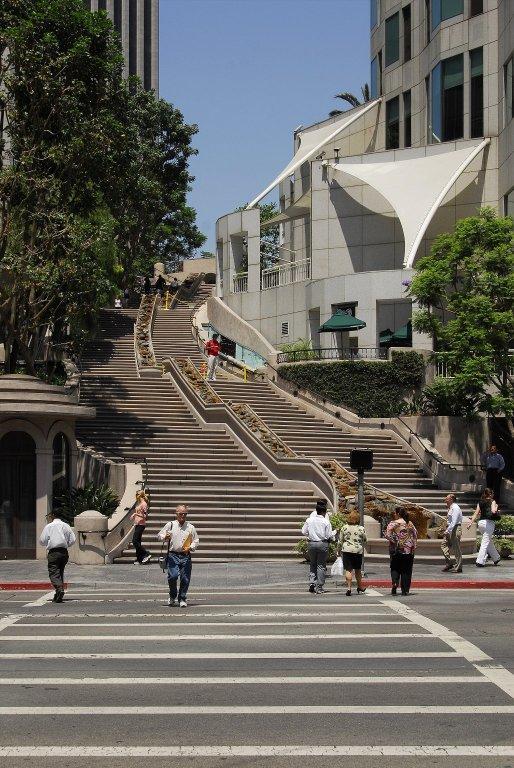 Bunker Hill Steps (Los Angeles), Bunker Hill Steps (Los Angeles)