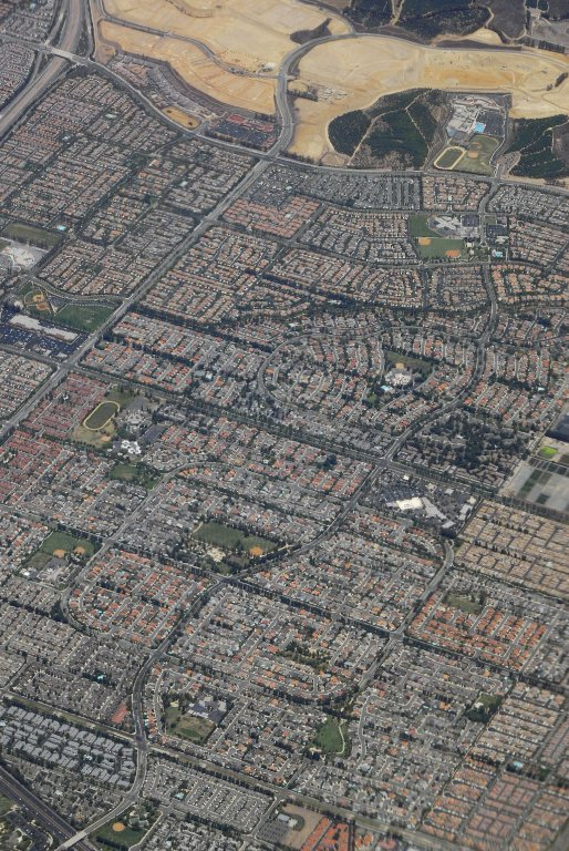 Los Angeles: Aerial (from Airplane) Topographic Views, Los Angeles: Aerial (from Airplane) Topographic Views