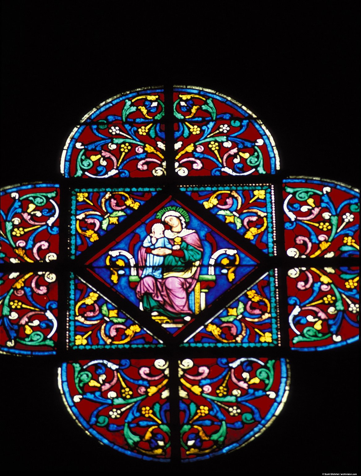 Notre-Dame Cathedral: Stained Glass