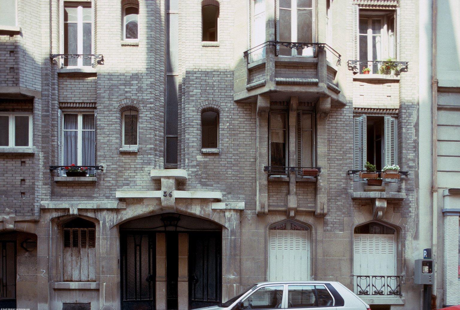 Apartment Building, rue Greuze