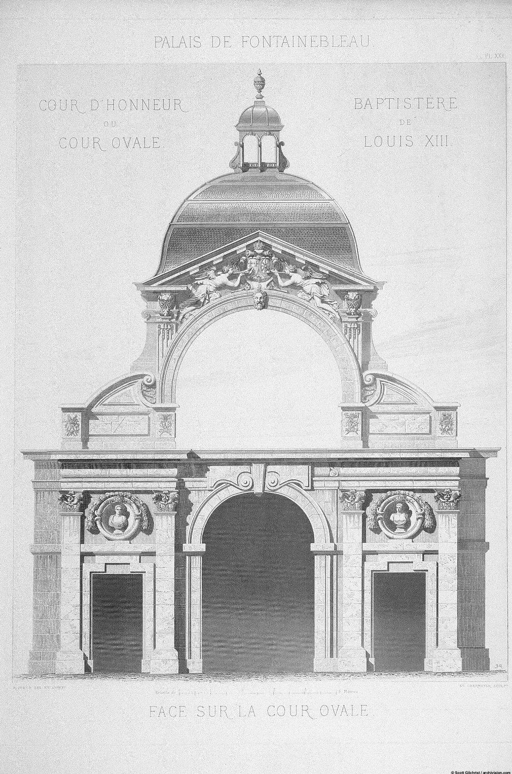 Monographie du palais de Fontainebleau