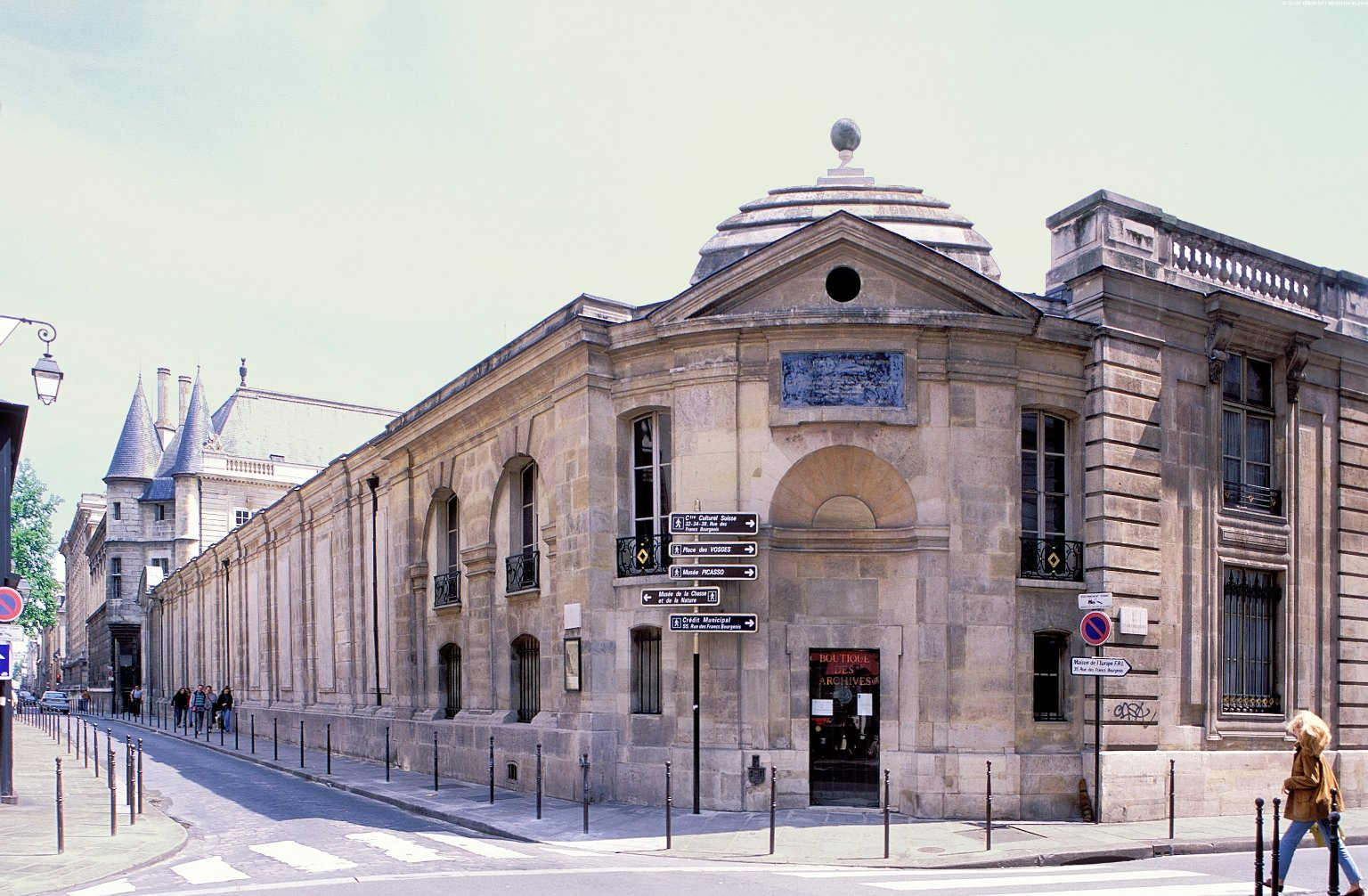 Marais District; Topographic Views