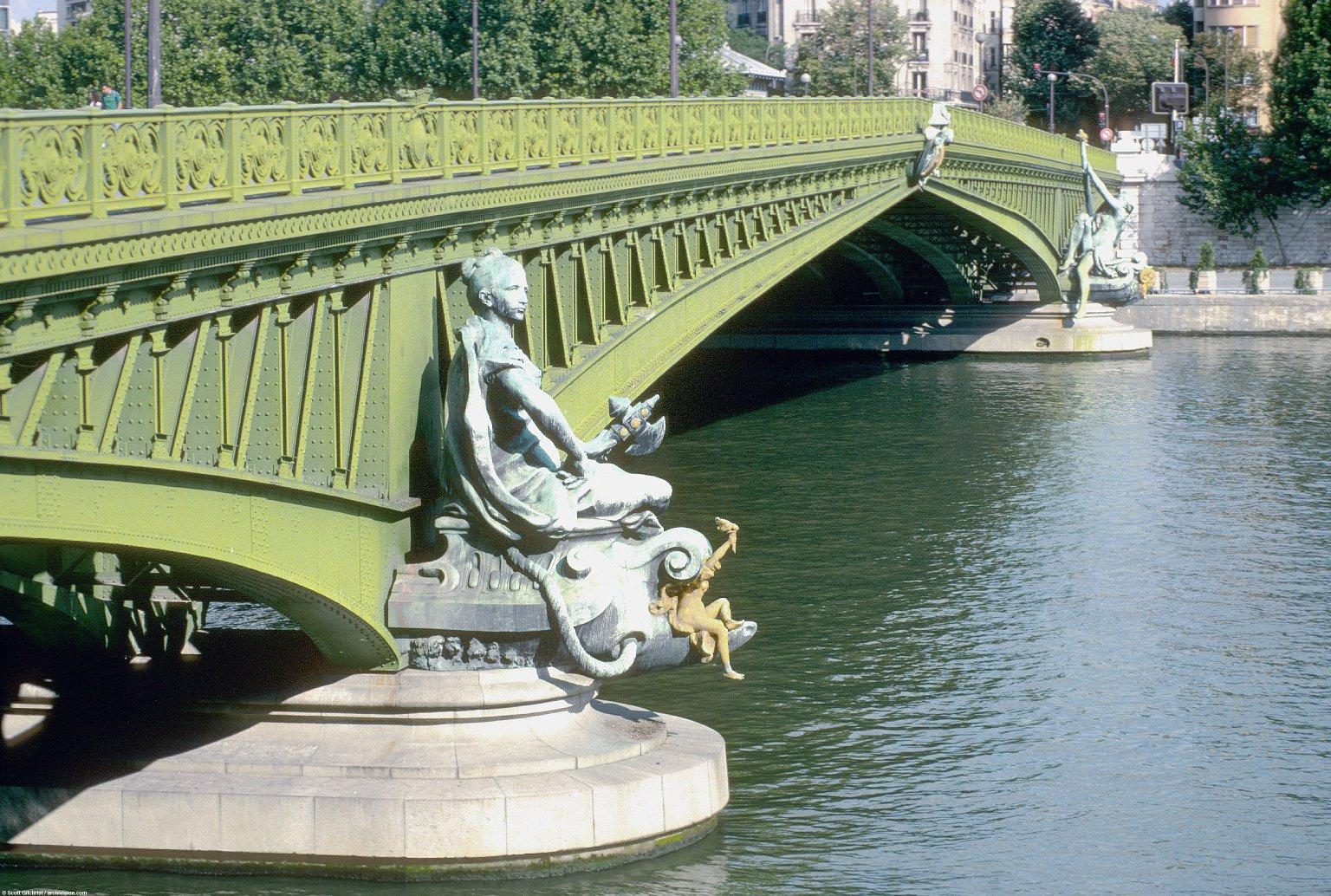 Paris Bridges; Topographic Views