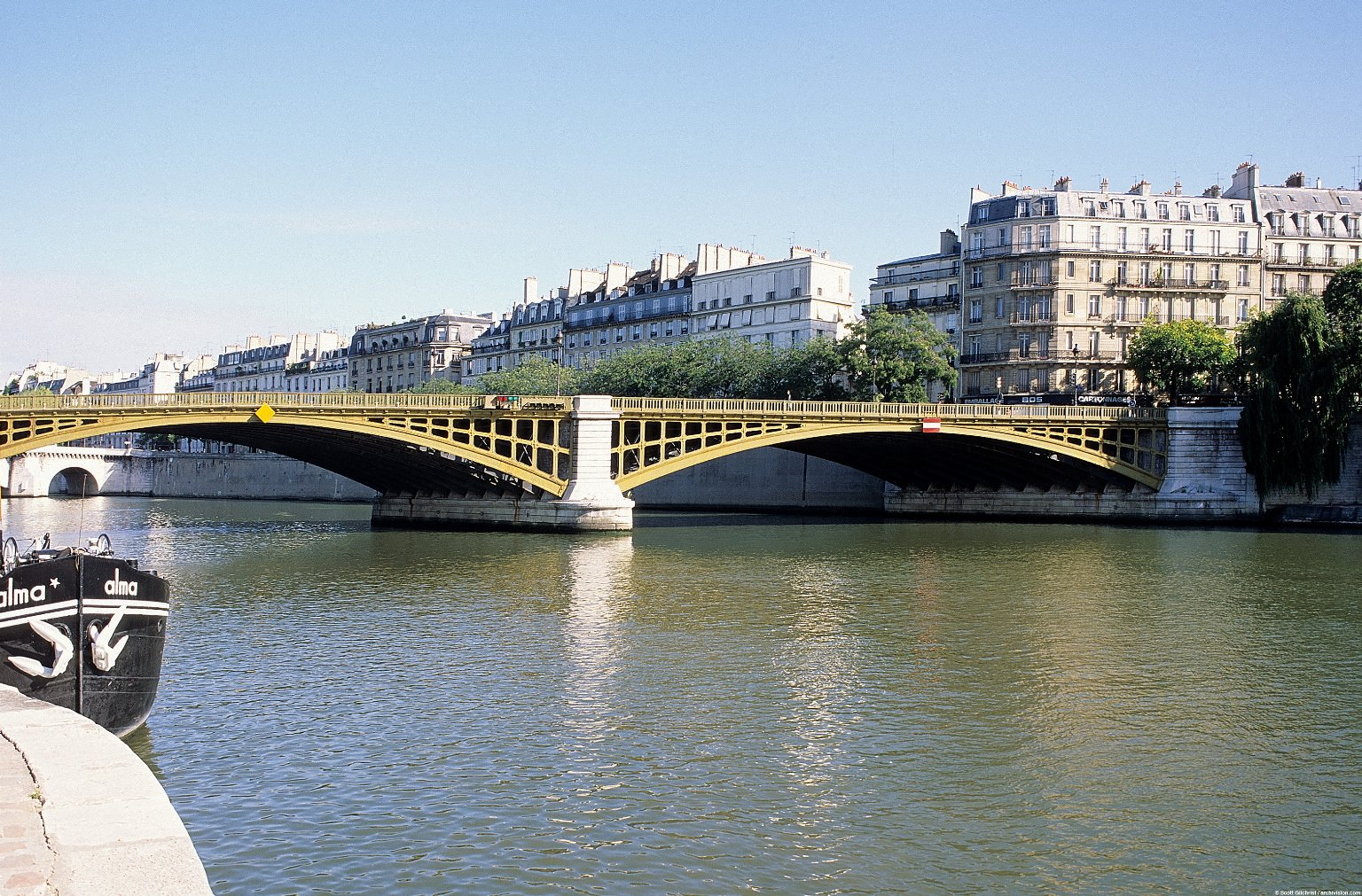 Paris Bridges; Topographic Views