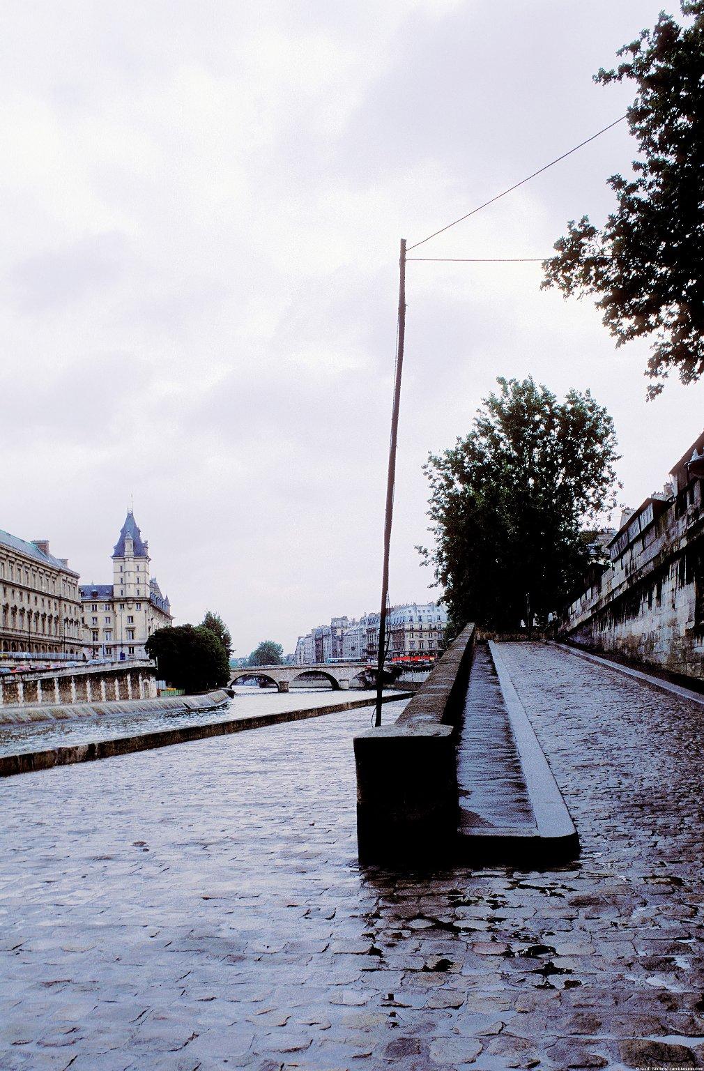 Paris Quays; Topographic Views