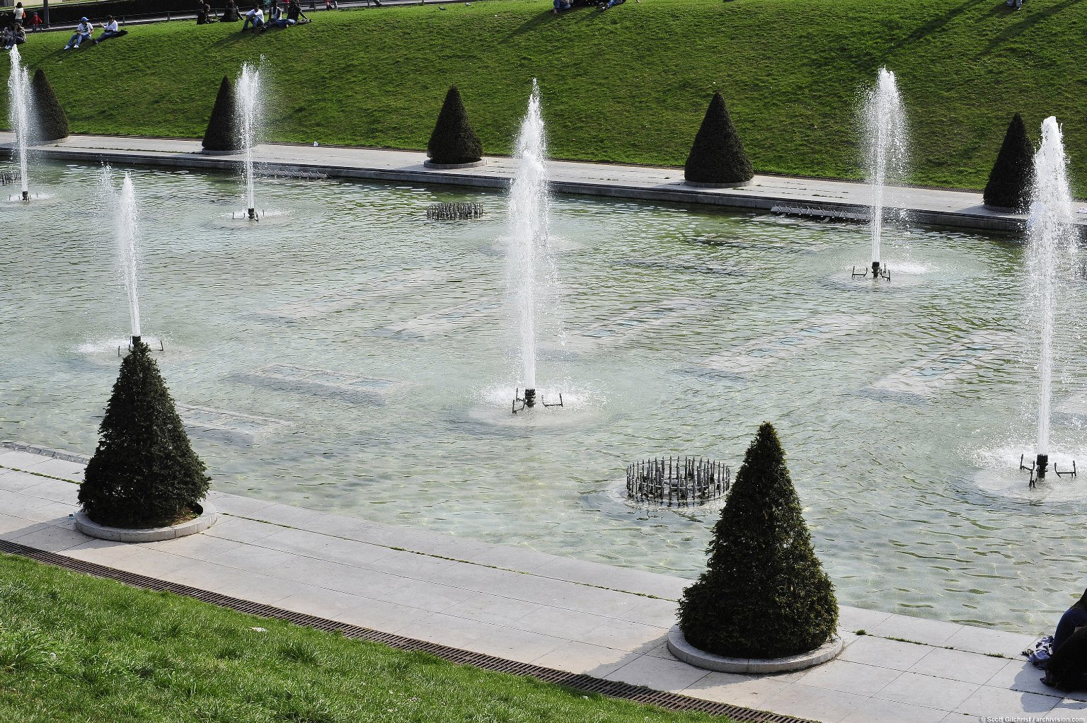 Fountain of Warsaw